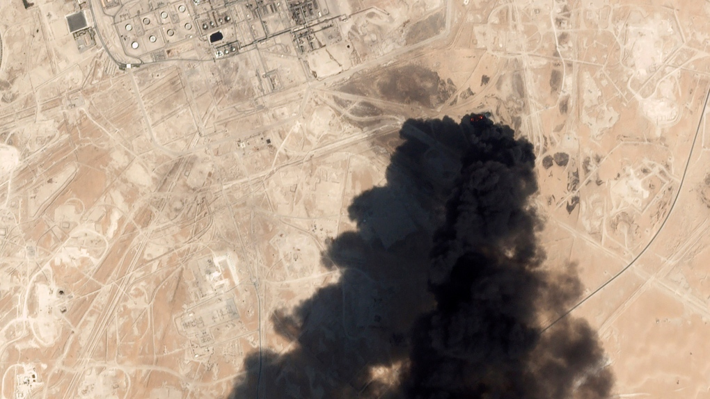 Attack on Saudi oil sites raises risks amid U.S.-Iran tension