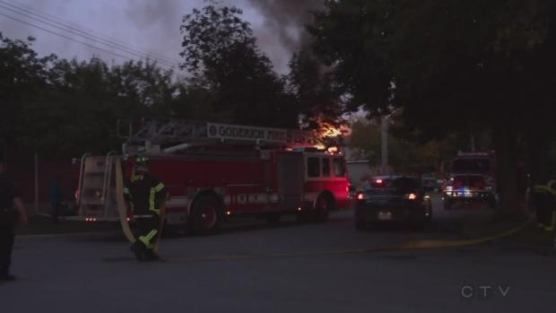 Occupants safely escape Goderich house fire