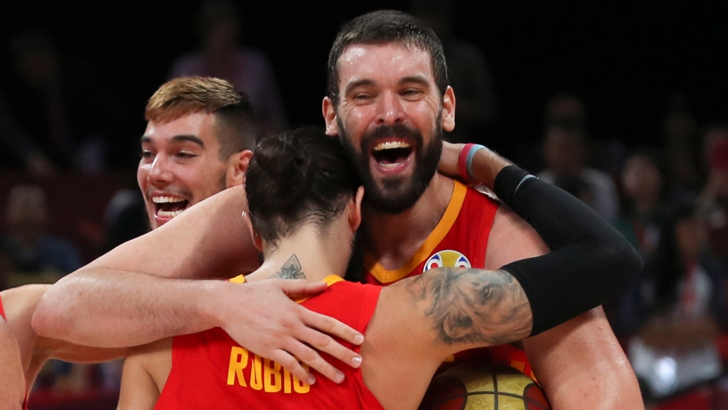 Raptors' Marc Gasol makes history as Spain wins World Cup