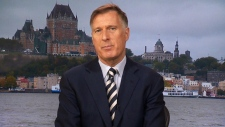 CTV QP: Bernier describes his election platform