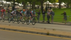 Cyclists vying for Grand Prix glory