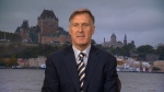 People's Party of Canada Leader Maxime Bernier speaks to Evan Solomon on CTV's Question Period