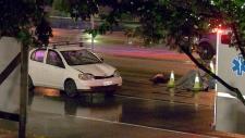 Pedestrian hit in Surrey