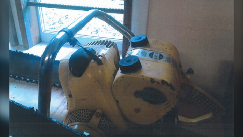 Have you seen these chainsaws? Antique tools stolen from Island museum