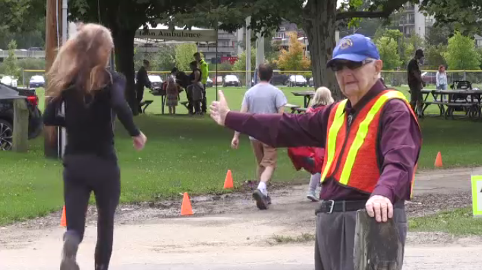 93-year-old volunteers his 39th Terry Fox Run