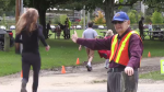 Dan Gamble has been the lead marshal of the Cambridge Terry Fox Run for 39 years. (Sept. 15, 2019)