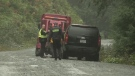 Regular users of the road on which two people were killed in a bus crash Friday night say it has been in need of repairs and improvements for years. (CTV Vancouver Island)