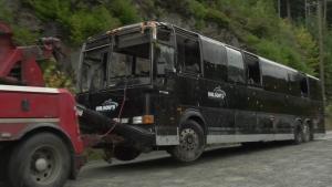 Bamfield Main bus
