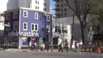 On Monday morning, the Eastlink building on Spring Garden Road and South Park was evacuated, two days after the crane fell at a nearby construction site – leaving tenants without a place to stay.