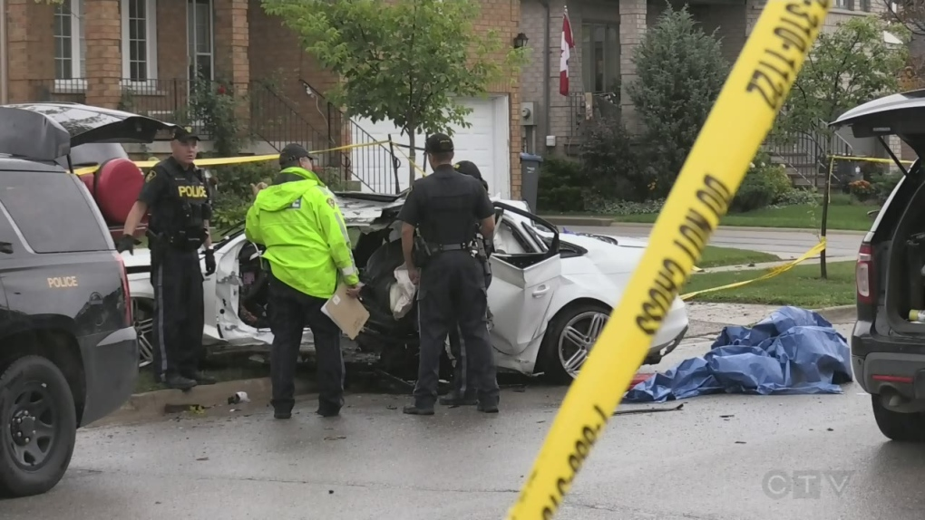 Man dead, twin brother in serious condition after crash in Bolton