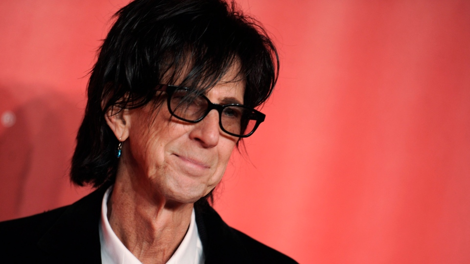 In this Feb. 6, 2015, file photo, Ric Ocasek of the Cars arrives at the MusiCares Person of the Year event at the Los Angeles Convention Center in Los Angeles. Ocasek, famed frontman for The Cars rock band, has been found dead in a New York City apartment. (Photo by Richard Shotwell/Invision/AP, File)