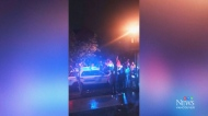 House party ends in assault on officer