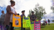 Coventry Hills rally for new school