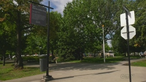 Kent Park was renamed Martin Luther King Park in Cote des Neiges Sept. 8, 2019.
