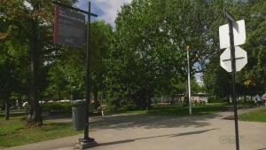 Kent Park was renamed Martin Luther King Park in Cote des Neiges Sept. 8, 2019.