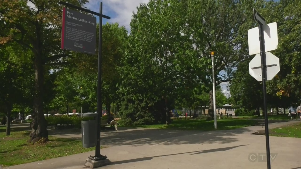 Martin Luther King Park in Cote des Neiges