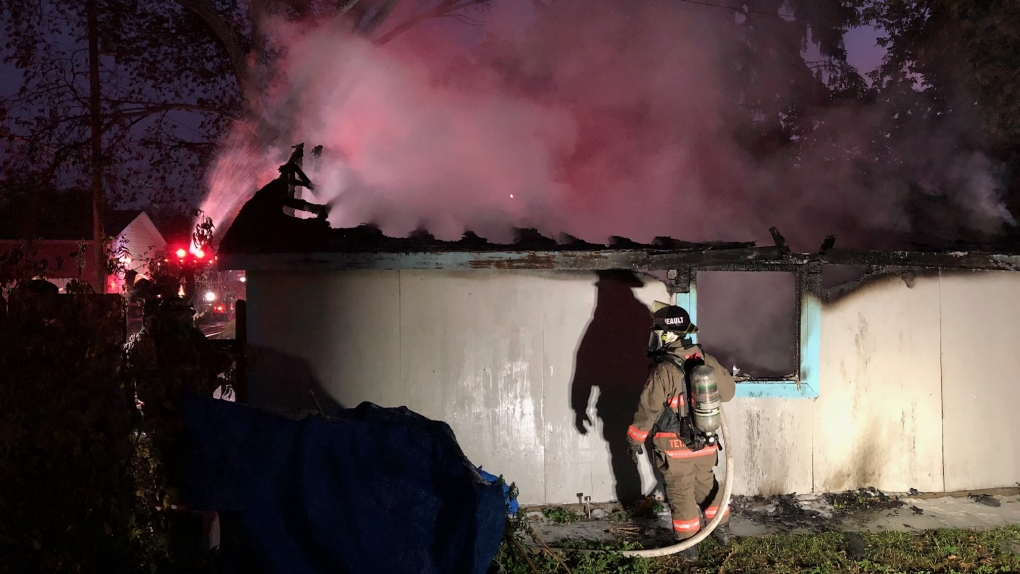 Saskatoon Garage Fire 2