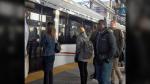 Ottawa's new light rail transit system passed its first big test during Monday morning's commute. (Graham Richardson/CTV)