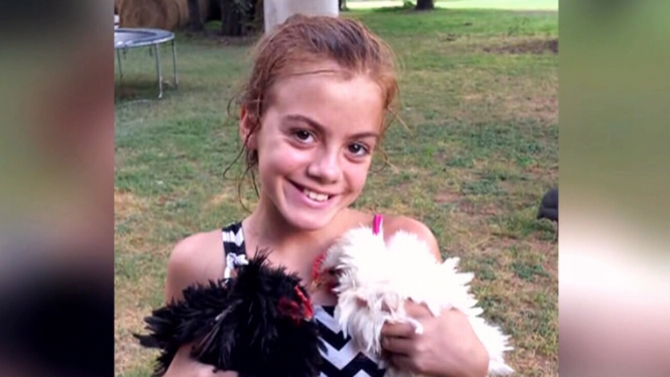 Ten-year-old Lily Mae Avant is seen in this undated photo. (Source: Facebook via CNN)