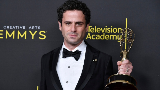 Canadian Luke Kirby wins Emmy for guest role on 'Mrs. Maisel'