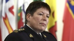 RCMP Commissioner Brenda Lucki listens to questions during a press conference in Ottawa on Wednesday, Jan. 16, 2019. THE CANADIAN PRESS/Justin Tang