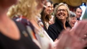 Elizabeth May unveils Green Party platform