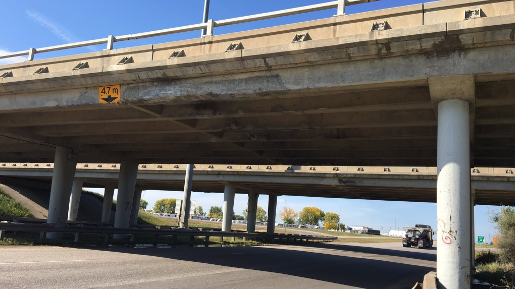 South Albert St. bridge struck by over-height trucks twice this month