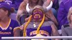The world's biggest Minnesota Vikings fan