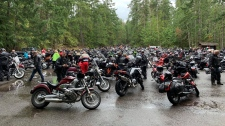 Hundred of motorcycle riders gather for the 35th Port Alberni Toy Run: Sept. 14, 2019 (CTV News)