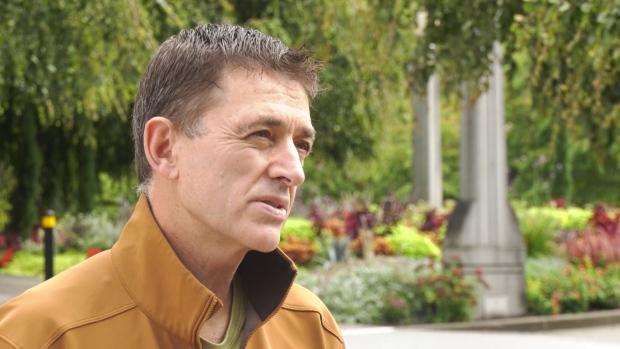 UBC professor Mark Tyndall