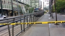 A person was seriously injured after they were struck by a CTrain in downtown Calgary on Monday.