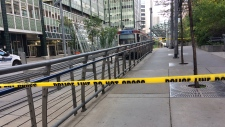 C Train incident downtown life threatening calgary
