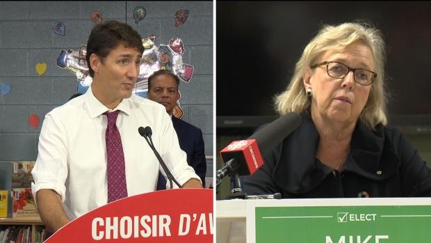Trudeau, May make stops in Waterloo Region