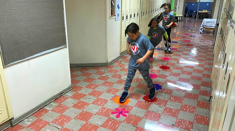 Edmonton Catholic schools let kids run in the hall in now program