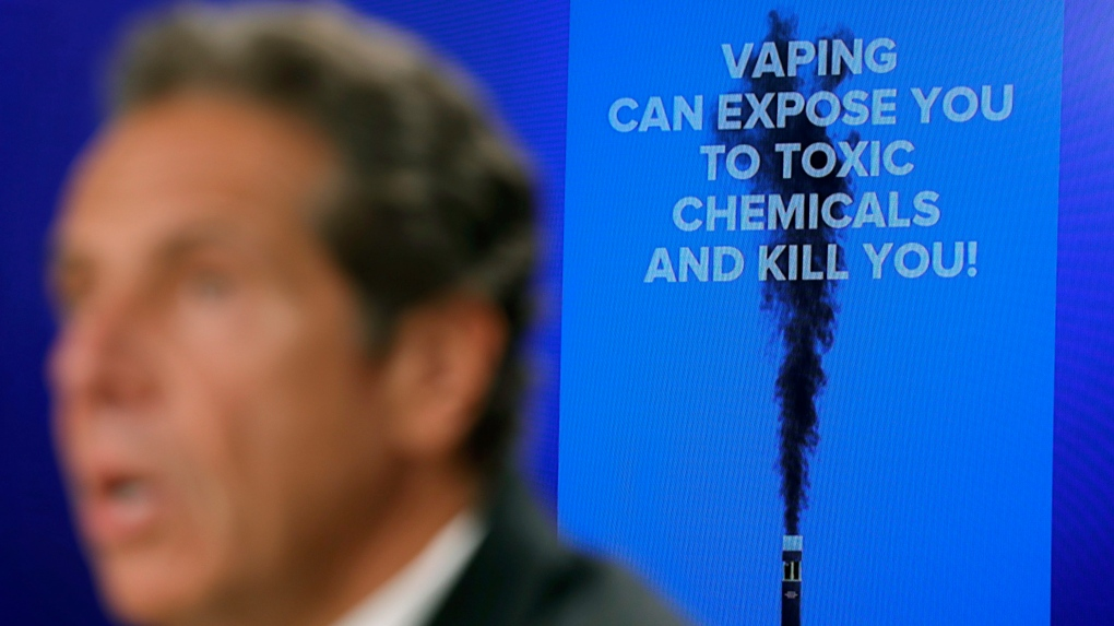 Retailers scramble as NY moves to ban flavoured e-cigarettes