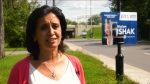 Conservative candidate Mariam Ishak