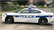A Peel Regional Police cruiser is seen in this photo. (CTV News Toronto)