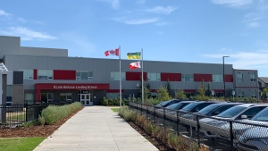 Ecole Harbour Landing School is seen in this file photo. (Marc Smith/CTV News)