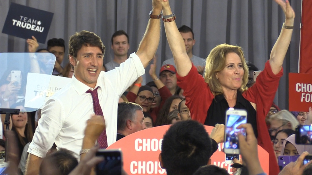 Trudeau makes big push for Liberal seat during Windsor campaign stop