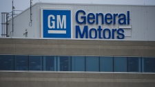 The General Motors Canada office in Oshawa, Ont.