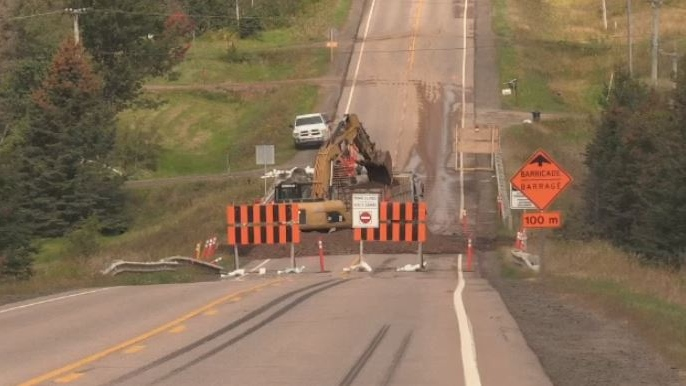 Route 126 remains closed due to concerns about the road washing out after post-tropical storm Dorian.