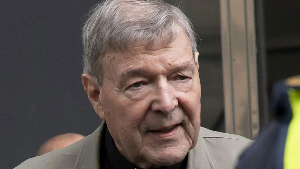 Cardinal George Pell in Melbourne, Feb. 2019