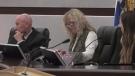 Delta city council, including Coun. Lois Jackson.
