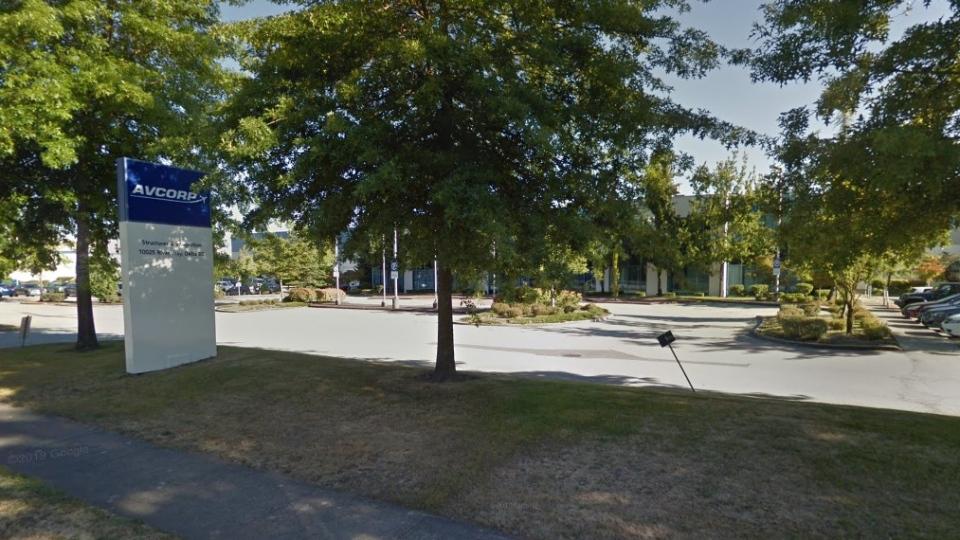 Avcorp in Delta, B.C. (Google Maps)