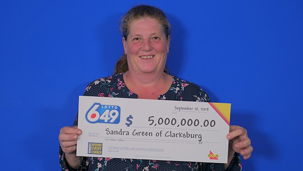 Clarksburg woman becomes multi-millionaire with lottery win