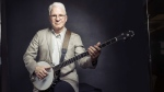 Steve Martin with his banjo in New York, on Sept. 2, 2015. (Victoria Will / Invision / AP)