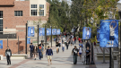 Students walk on the University of California, Los Angeles campus on Feb. 26, 2015. (AP / Damian Dovarganes)