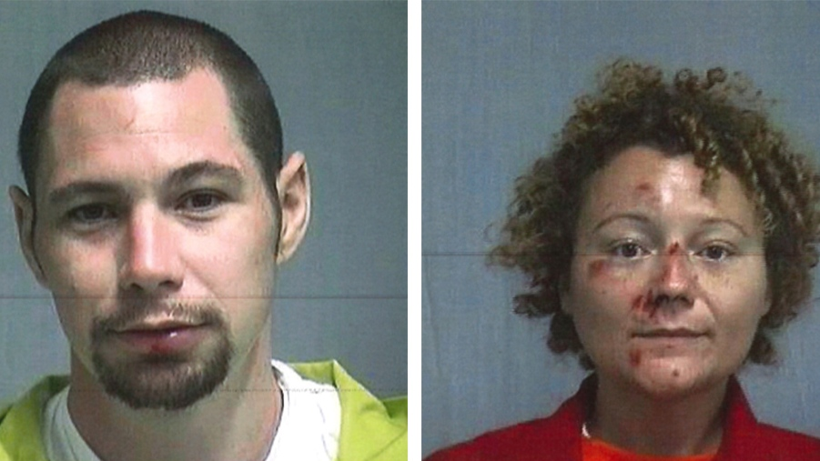 Fla. couple accused of having sex in police car after DUI arrests