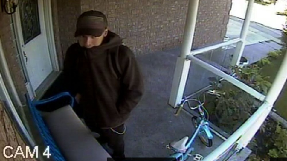 Police are looking to identify a break-in suspect seen in a security video. (Photo: WRPS) (Sept. 6, 2019)
