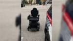 Police say a stolen wheelchair valued at around $8,600 has been returned to its owner. (Photo: WRPS) (Sept. 17, 2019)